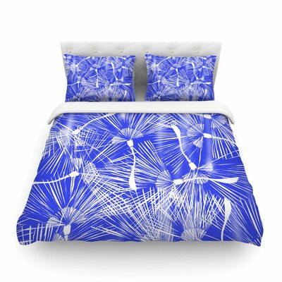 Palmtree Chinoiserie by Danii Pollehn Featherweight Duvet Cover Size: King