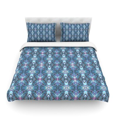 Native Pattern Geometric by Danii Pollehn Featherweight Duvet Cover Size: Twin