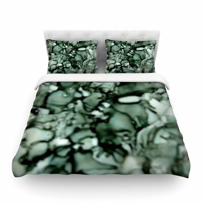 Neutral Featherweight Duvet Cover Size: Full/Queen