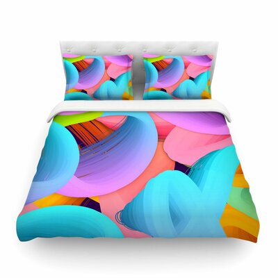 Funny by Danny Ivan Featherweight Duvet Cover Size: Twin