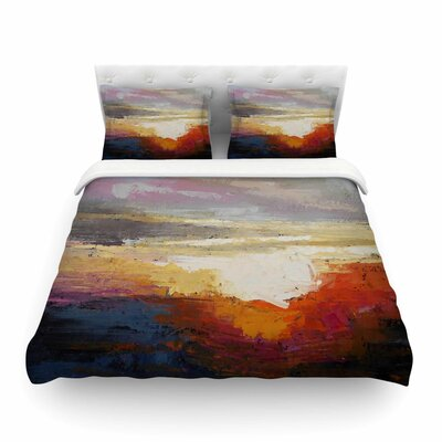 Georgia Morning Nature by Carol Schiff Featherweight Duvet Cover Size: Twin