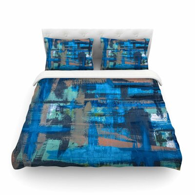 Hyper Painting Featherweight Duvet Cover Size: Full/Queen