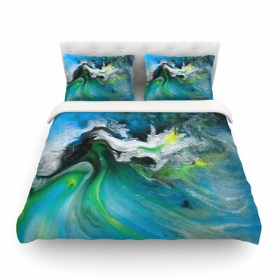Abstract Featherweight Duvet Cover Size: King