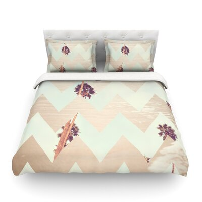 Oasis by Catherine McDonald Featherweight Duvet Cover Size: Full/Queen
