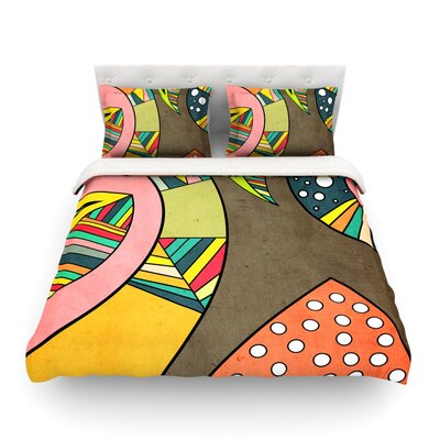 Cosmic Aztec Featherweight Duvet Cover Size: King