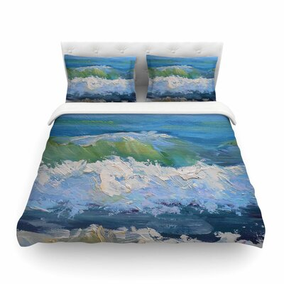 The Pastel Sea Featherweight Duvet Cover Size: Full/Queen
