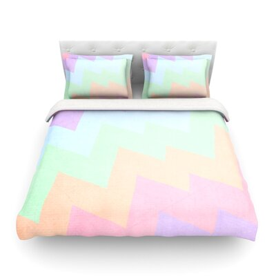 Blaze by Catherine McDonald Featherweight Duvet Cover Size: Twin