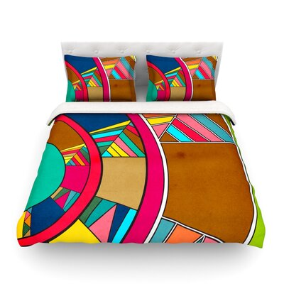 Lov Pattern by Danny Ivan Featherweight Duvet Cover Size: Full/Queen