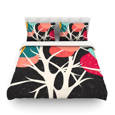 Lovely Tree Branches by Danny Ivan Featherweight Duvet Cover Size: Twin