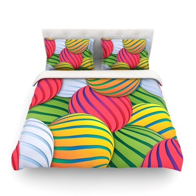 Melons by Danny Ivan Featherweight Duvet Cover Size: Full/Queen
