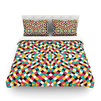 Retro Grade by Danny Ivan Featherweight Duvet Cover Size: King