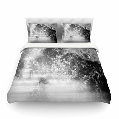 Ice by Chelsea Victoria Featherweight Duvet Cover Size: Twin