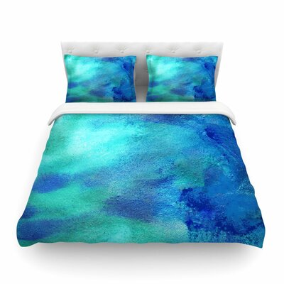 AC3 Watercolor Featherweight Duvet Cover Size: King