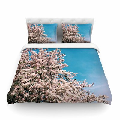 Blossom Tree by Chelsea Victoria Featherweight Duvet Cover Size: Full/Queen