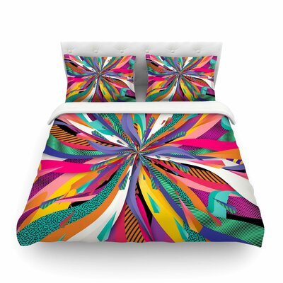 Pop Abstract by Danny Ivan Featherweight Duvet Cover Size: King