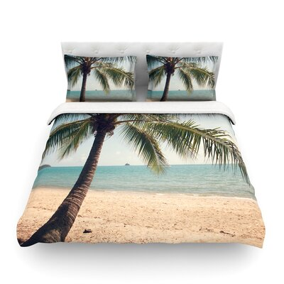 Tropic of Capricorn Ocean Photography by Catherine McDonald Featherweight Duvet Cover Size: King