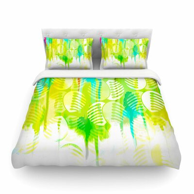 Poddy Combs - Wet Paint by Dan Sekanwagi Featherweight Duvet Cover Size: Twin