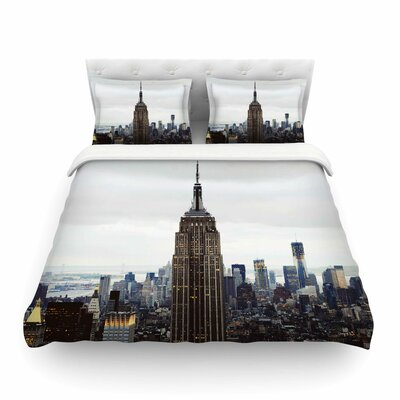 New York Stories Urban Travel by Chelsea Victoria Featherweight Duvet Cover Size: Full/Queen