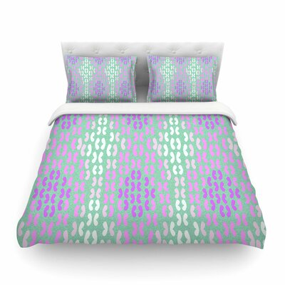 Butterfly Elements Featherweight Duvet Cover Size: King