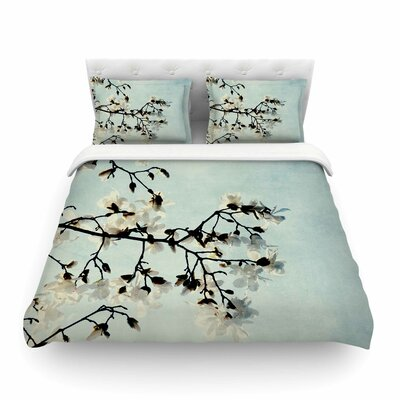 Bloom Photography Nature by Chelsea Victoria Featherweight Duvet Cover Size: Full/Queen
