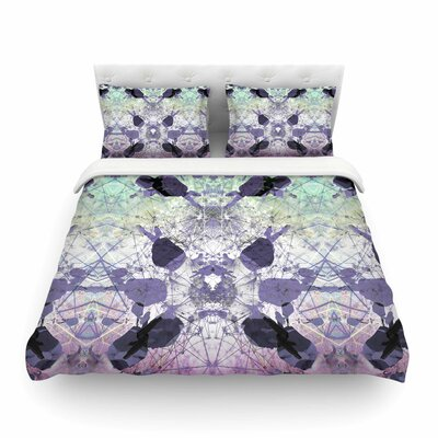 Geometrical Jumper Geometric by Danii Pollehn Featherweight Duvet Cover Size: Twin