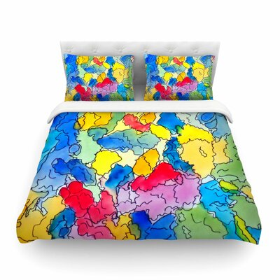 Explorer by Cathy Rodgers Featherweight Duvet Cover Size: Twin