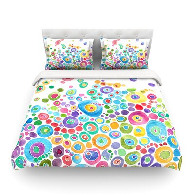 Inner Circle by Catherine Holcombe Featherweight Duvet Cover Size: Twin