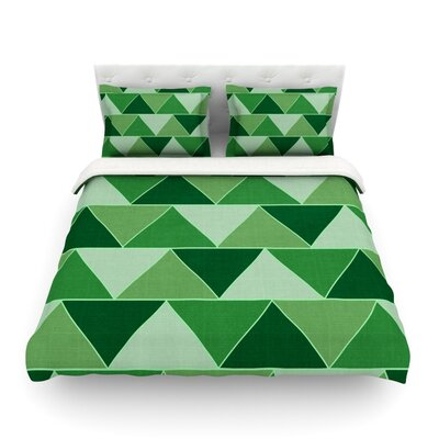 Emerald City by Catherine McDonald Featherweight Duvet Cover Size: Full/Queen