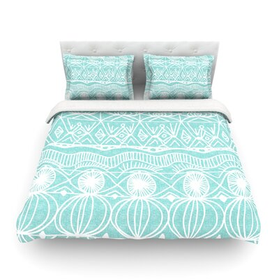 Beach Blanket Bingo by Catherine Holcombe Featherweight Duvet Cover Size: Twin