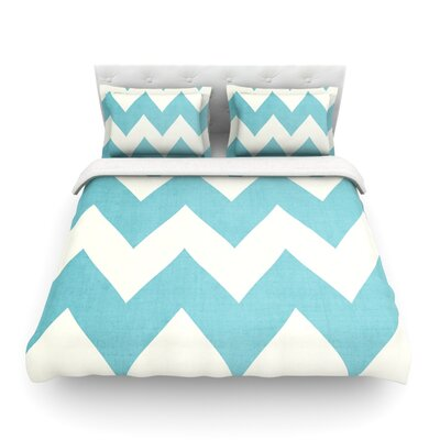 Salt Water Cure by Catherine McDonald Featherweight Duvet Cover Size: Full/Queen, Color: Salt Water Cure
