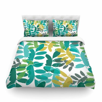 Charming Nature by Bridgette Burton Featherweight Duvet Cover Size: King