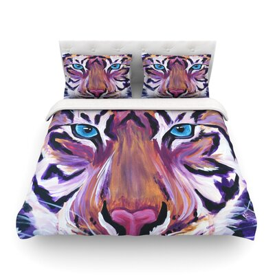 Tiger by Brienne Jepkema Featherweight Duvet Cover Size: Twin