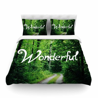Wonderful Nature by Chelsea Victoria Featherweight Duvet Cover Size: Full/Queen