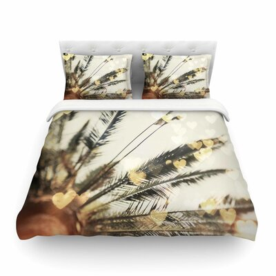 California Love Bokeh Nature by Chelsea Victoria Featherweight Duvet Cover Size: Twin