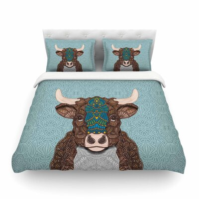 Bennie - The Bull Featherweight Duvet Cover Size: Twin