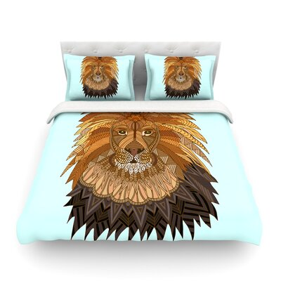 Lion by Art Love Passion Featherweight Duvet Cover Size: Twin