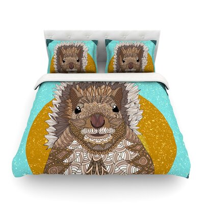 Squirrel by Art Love Passion Featherweight Duvet Cover Size: Twin