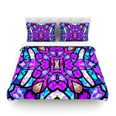 Kaleidoscope Dream by Art Love Passion Featherweight Duvet Cover Size: Twin
