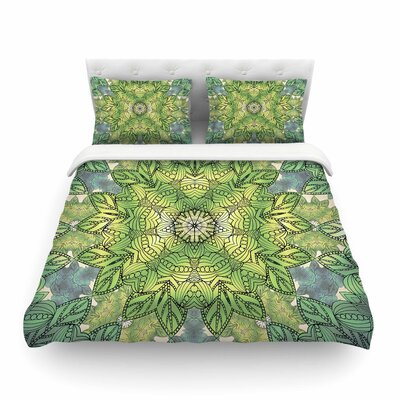Celtic Mandala Featherweight Duvet Cover Size: Twin