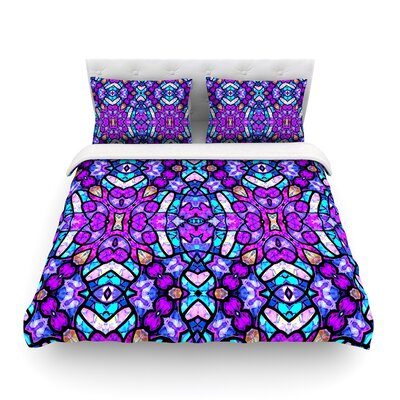 Kaleidoscope Dream Continued by Art Love Passion Featherweight Duvet Cover Size: Full/Queen