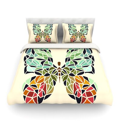 Butterfly by Art Love Passion Featherweight Duvet Cover Size: King