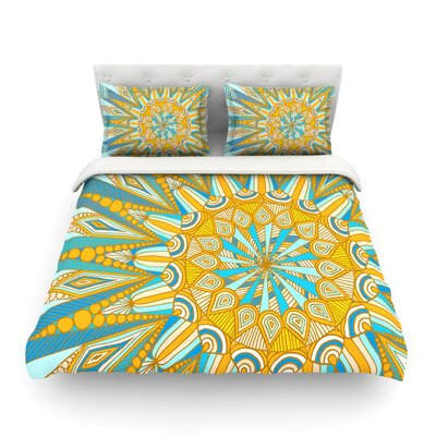 Here Comes the Sun by Art Love Passion Featherweight Duvet Cover Size: King