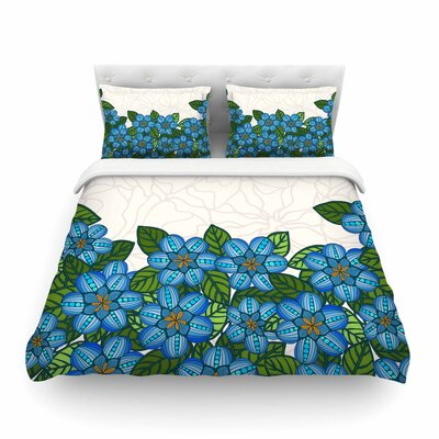 Flower Field by Art Love Passion Featherweight Duvet Cover Size: King