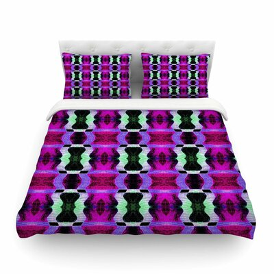 High Vibrations by Anne LaBrie Featherweight Duvet Cover Size: Twin