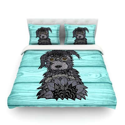 Little Miss Daisy  by Art Love Passion Featherweight Duvet Cover Size: King