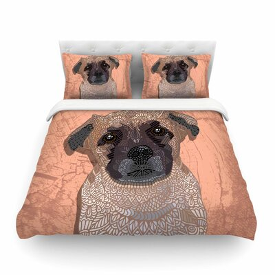 Mr. Milo by Art Love Passion Featherweight Duvet Cover Size: Twin