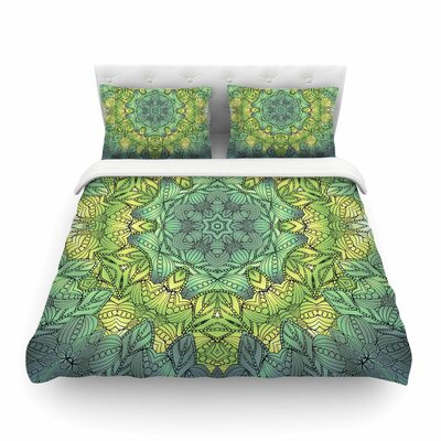 Fairy Mandala by Art Love Passion Featherweight Duvet Cover Size: Twin