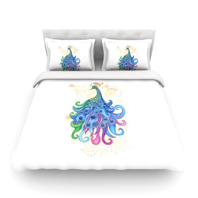 Peace by Catherine Holcombe Featherweight Duvet Cover Size: King