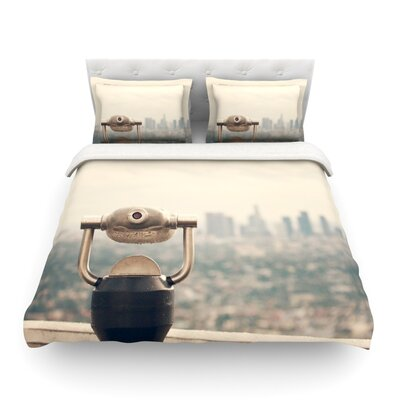 The View LA by Catherine McDonald Featherweight Duvet Cover Size: King