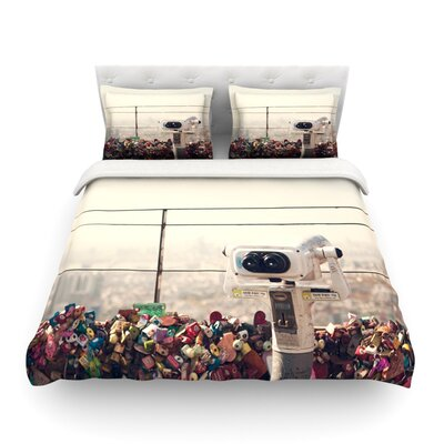 The View Seoul by Catherine McDonald Featherweight Duvet Cover Size: King